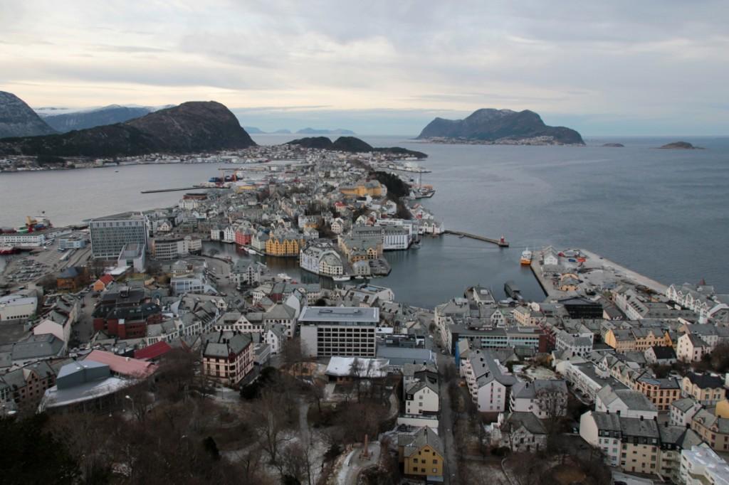 Aussicht auf Ålesund