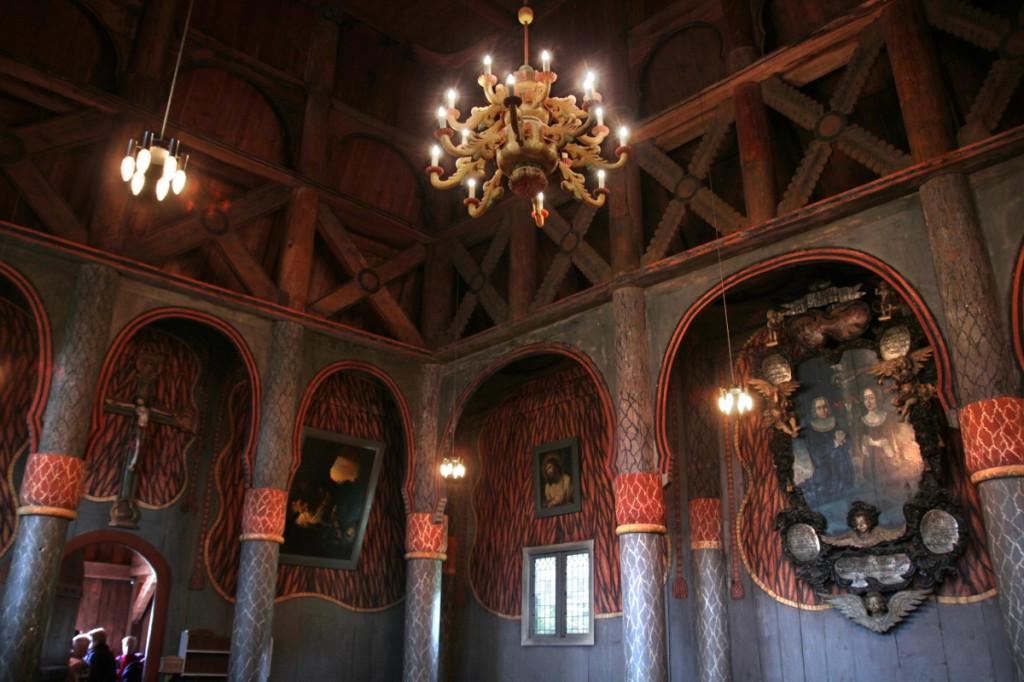 Ringebu Stavkyrkje: Stabkirche zu Ringebu