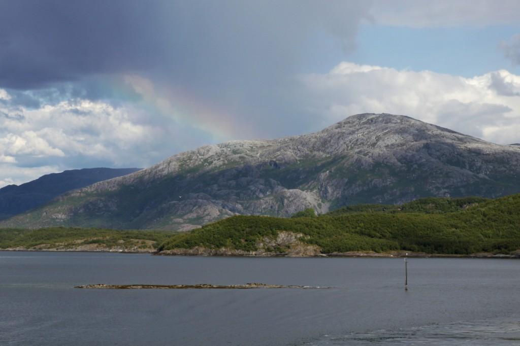Auf dem Weg nach Sandnessjøen