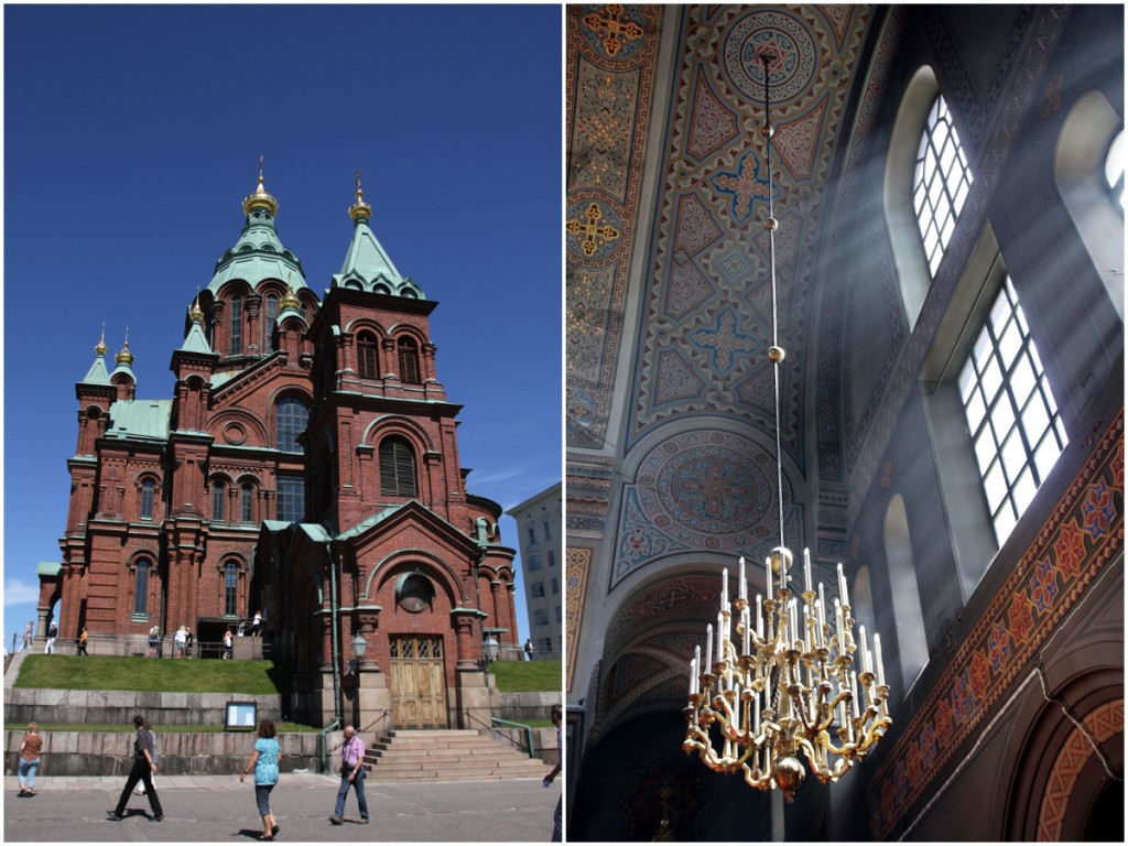 Die orthodoxe Uspenski-Kathedrale