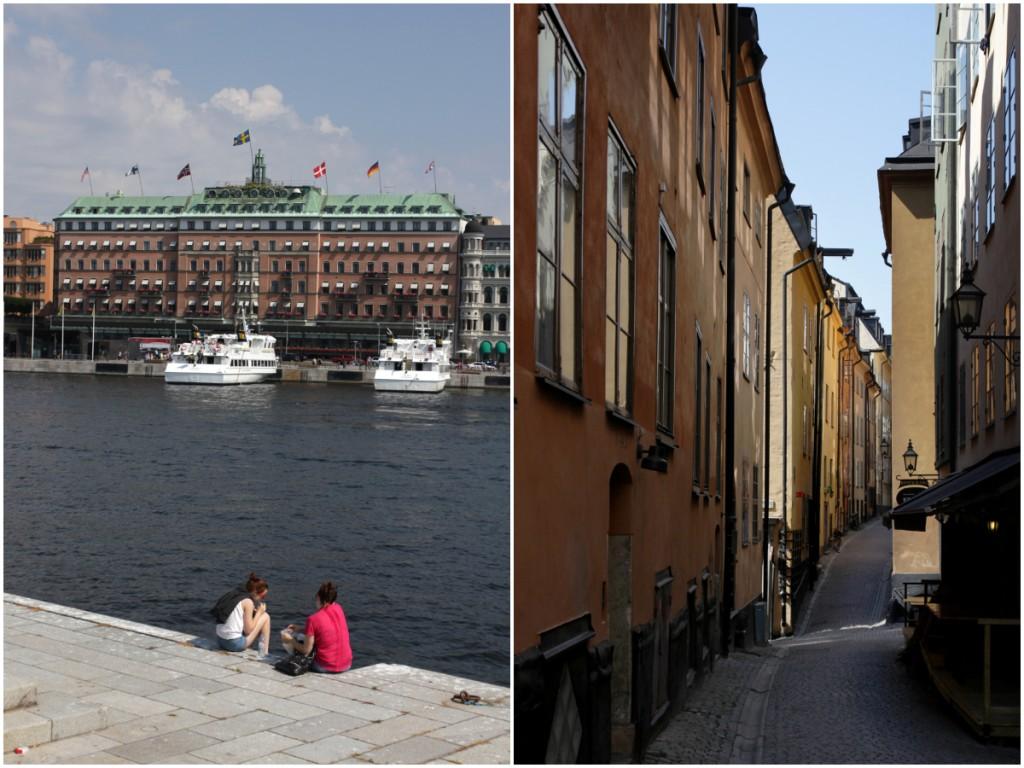 Grand Hôtel und das Stockholmer Nizza