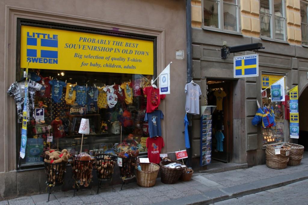 Stockholmer Souvenirladen